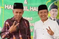 KH Marzuki Mustamar Bacakan Hizib Nashor Untuk Kemenangan Abah Anton-Syamsul