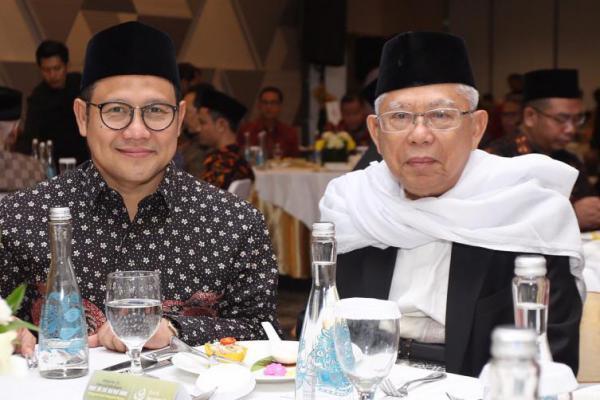 KH. Ma`ruf Amin Cawapres Jokowi, Cak Imin: Suara PKB akan Melonjak