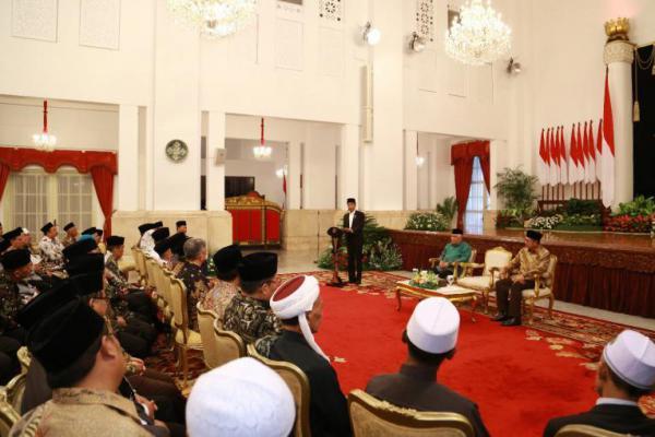 Kiai Said dan Cak Imin Hadiri Pembukaan MTQ dan Kongres JQH di Istana