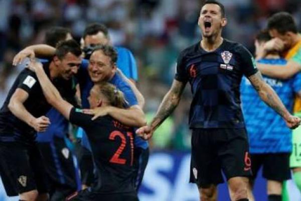 Tumbangkan Inggris, Kroasia Tantang Prancis di Final Piala Dunia 2018