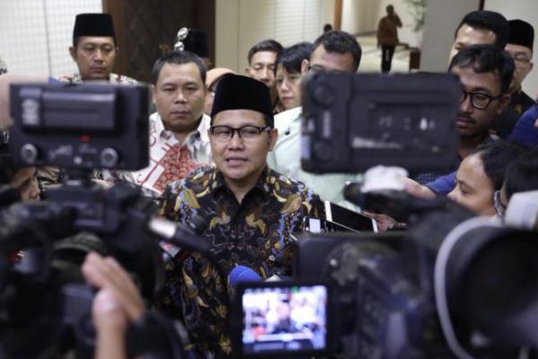 Temui Jokowi di Istana, Cak Imin Akui Bahas Cawapres