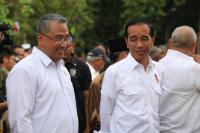 Di Banyuasin, Jokowi Senang Dana Desa Serap Tenaga Kerja