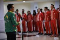 Menpora Lepas Kontingen Asean schools Games ke-10 Malaysia 2018
