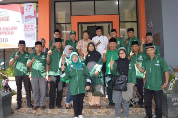 Target 3 Kursi DPRD, PKB Kota Payakumbuh Daftarkan Bacaleg ke KPUD