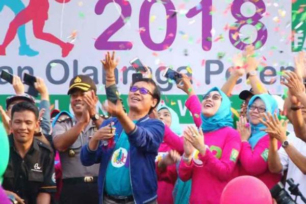 'Nguri-Uri' Olahraga Tradisional, Fatayat Gelar POP di Tulungagung