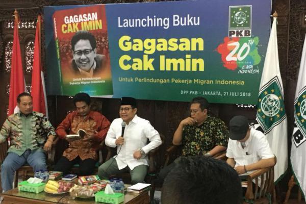 Launching Buku Sempat Haru Saat Cak Imin Kenang Miftah Farid