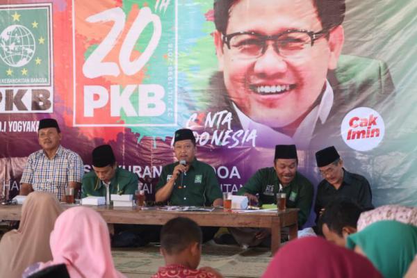 Gelar Harlah ke-20 di Pantai Kuwaru, PKB DIY Doakan Cak Imin Dilantik Wapres 2019