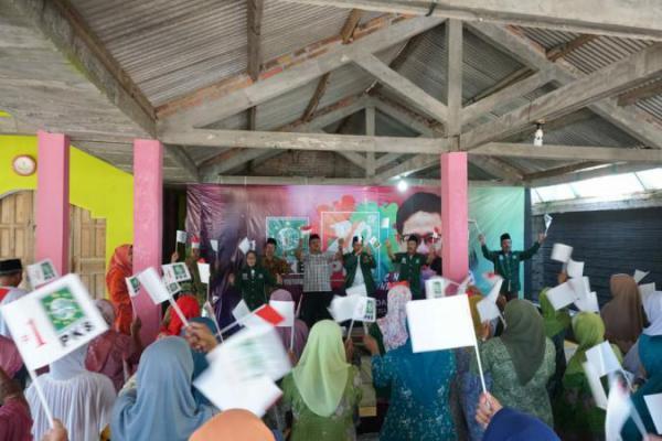 Bersama Warga NU, PKB DIY Rayakan Harlah ke-20 di Pantai Kuwaru, Bantul