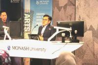 Isi Kuliah Umum di Monash University, Cak Imin: Kebhinekaan Itu Niscaya