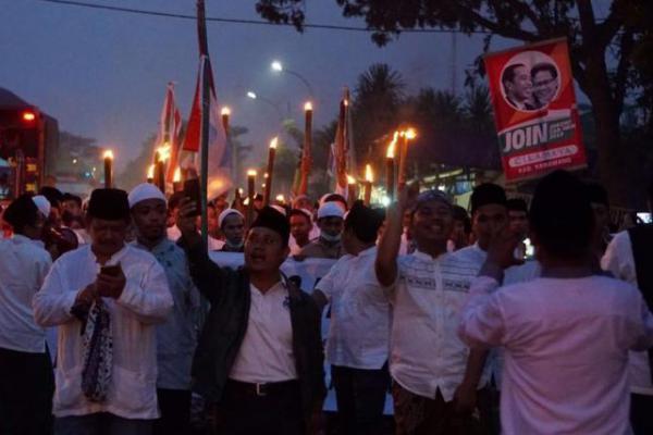 Laskar Santri Tiba di Jakarta, Siang Ini Temui Cak Imin