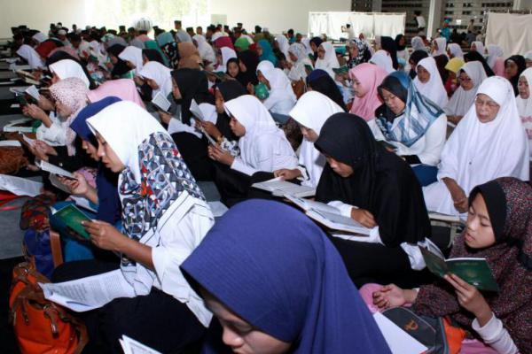 Khataman Quran dan 4444 Salawat Nariyah Dibaca Demi Cak Imin