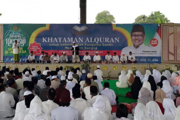 Dukung Cak Imin jadi Wapres Jokowi, Ulama Banten Siap `All Out`