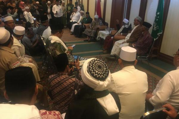 Dukung Cak Imin Wapres Jokowi, Kiai Sepuh Temui PBNU
