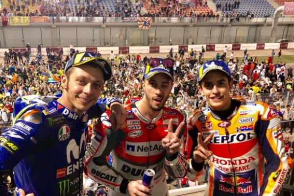 MotoGP Ceko: Pertarungan Dovi, Rossi dan Marquez