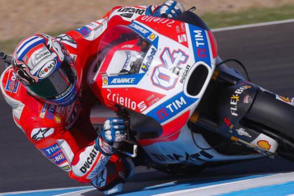 Ducati Catat Hasil Bagus di Tes Pra Musim, Dovizioso Senang