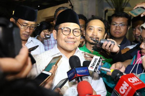 Sambut Jokowi-Ma'ruf Amin, Cak Imin: Semua Tetap JOIN