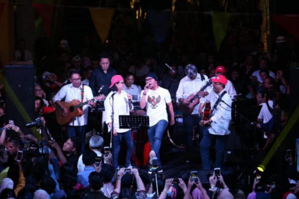 Konser Amal Elek Yo Band Untuk Korban Gempa Lombok Terkumpul Rp 2,2 M