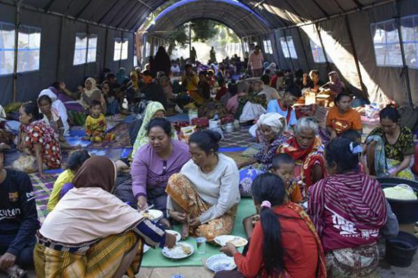Gempa Lombok, BNPB: 460 Orang Meninggal, Kerugian Capai Rp 7,45 T