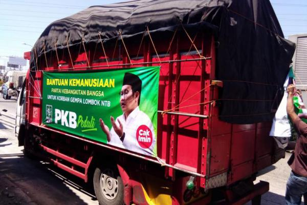 Lagi, PKB Salurkan 2 Truk Bantuan Kemanusiaan untuk Lombok