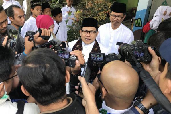 Cak Imin Soal Cawapres Jokowi: Mana Bisa Presiden Diancam
