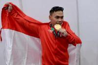 Eko Yuli Persembahkan Medali Emas untuk Istri Tercinta