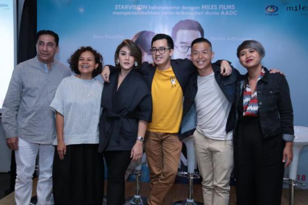 """Sejumlah Artis Nasional Ikut Bintangi Film """"Milly & Mamet"""", Siapa Saja?"""