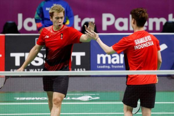 Pulangkan Wakil Jerman, Kevin/Marcus Melangkah ke Semifinal Fuzhou China Open 2019
