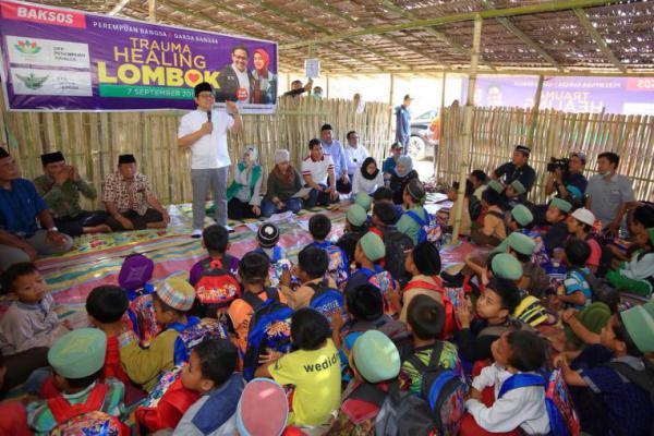 Rehabilitasi Sekolah Akibat Bencana Lombok Harus Jadi Prioritas