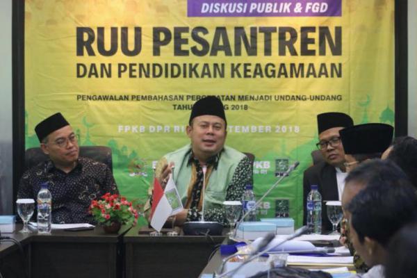 Hari Santri 2019, PKB Minta Pemerintah Terbitkan Aturan Pelaksana UU pesantren