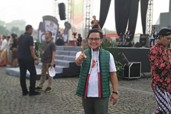 Cak Imin Hadiri Kampanye Perdana Pilpres 2019 di Monas