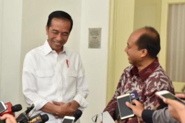 Keinginan Sutopo Bertemu Presiden Akhirnya Terwujud