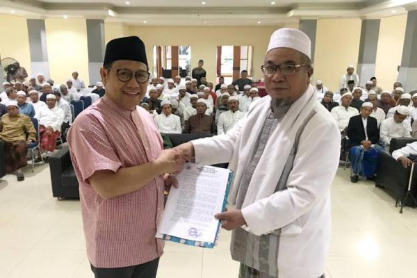 Pimpinan Ponpes se Banjar Deklarasi Dukung Jokowi-Ma'ruf Amin