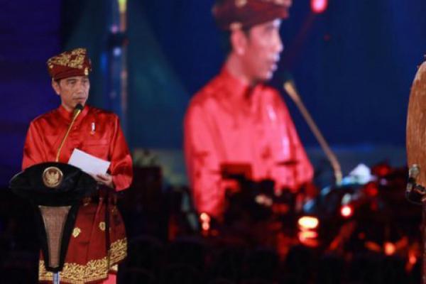 Buka MTQ Nasional, Jokowi: Tangkal Hoaks dengan Baca Al Quran