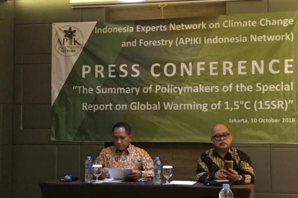 APIK Indonesia Desak Penguatan Kemitraan Global untuk Membatasi Pemanasan Global