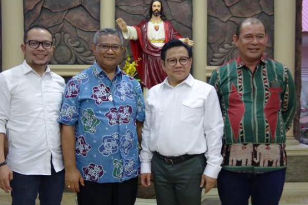 Ke Maumere, Cak Imin Sibak Sejarah Lepo Bispu dari Uskup Ewaldus