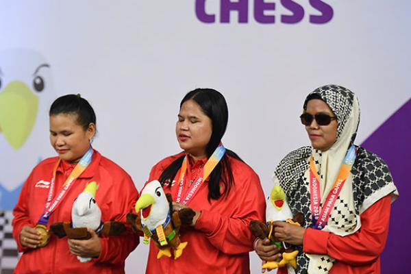 Lagi, Catur Borong Lima Medali Emas untuk Indonesia