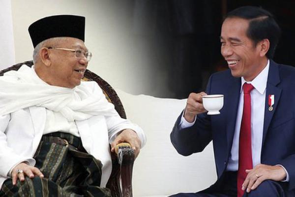 Kiai Ma`ruf Ditugasi Jokowi Urus SDM dan Ekonomi Syariah