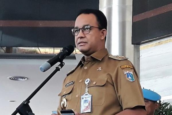 Kasus Covid Naik Lagi, Luhut Minta Anies Perketat WFH