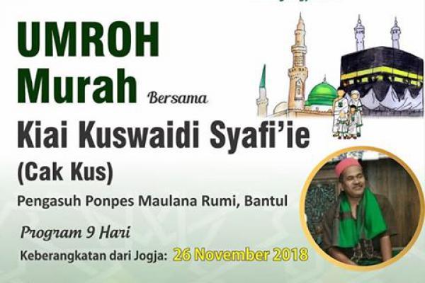 Bersama Kiai Kuswaidi Syafi`ie, Sabilina Tours & Trevel Tawarkan Umroh Murah
