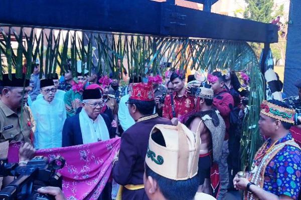 KH Ma`ruf Amin Hadiri Peringatan Hari Santri di Palangkaraya
