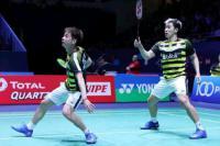 Kevin/Marcus Tundukkan Korsel, Duel `All Indonesian` Tercipta di Semi Final