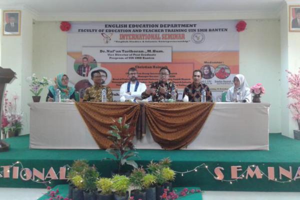 Jurusan TBI UIN Banten Gelar Seminar Enterpreneurship
