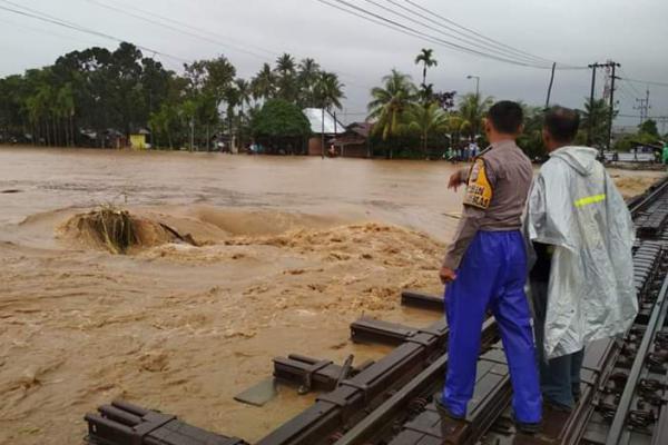 600 Rumah di Kota Padang Terendam Banjir
