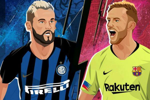 Bertandang ke Markas Inter Milan, Barcelona Akui Punya Kelemahan Lini Belakang