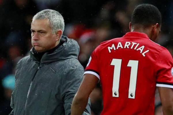 Dikabarkan Berseteru dengan Jose Mourinho, Inter Milan Siap Tampung Anthony Martial