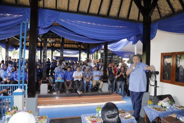 Nyapres Dua Kali, SBY: Tak Pernah Maksa Ketum Parpol Kampanyekan Dirinya