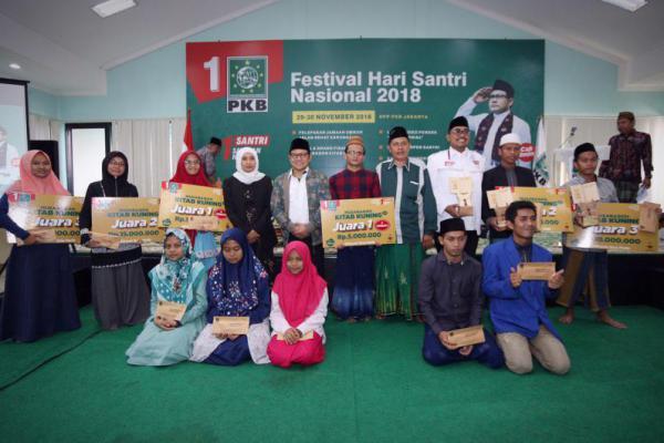 Daftar Juara Festival Hari Santri 2018 DPP PKB