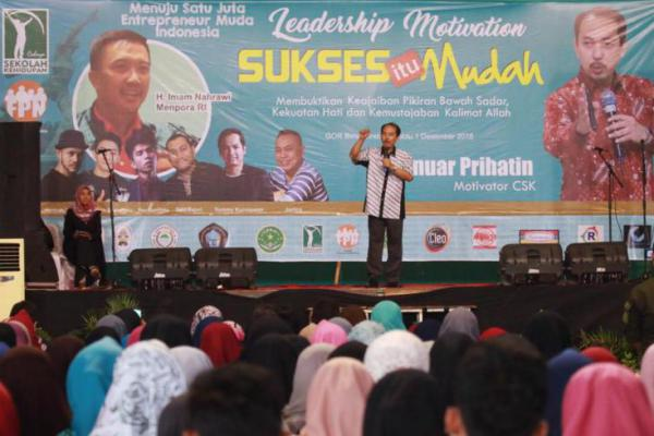 CSK & FPN Gelar `Leadership Motivation` Menuju 1 Juta Entrepreneur Indonesia