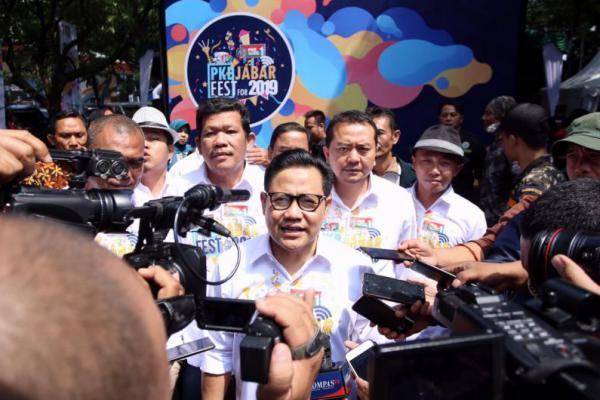 Jokowi-Ma'ruf Amin Unggul di Jawa, Cak Imin: Termasuk Jabar