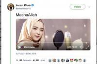Heboh, Perdana Menteri Pakistan Posting Lagu Nisa Sabyan